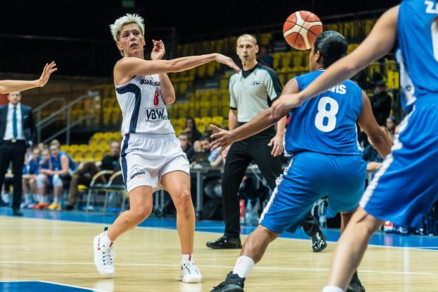 Jelena Skerović po pierwszej kwarcie meczu w Gorzowie Wlkp. miała na koncie 10 pkt, a Basket prowadził 19:10. Niestety, gdynianki roztrwoniły tę przewagę.