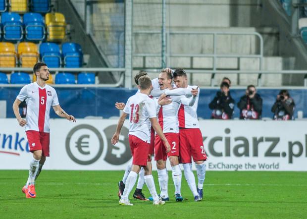 Tak polscy piłkarze cieszyli się w Gdyni w listopadzie ubiegłego roku, gdy pokonali Norwegię 1:0.