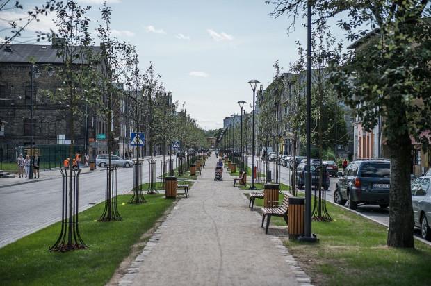 """Ulicę Łąkową można w tej chwili śmiało nazwać """"salonem"""" Dolnego Miasta."""