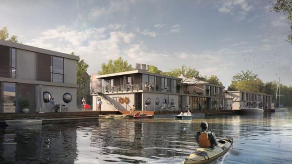 Jest pomysł, by na Kanale na Stępce od strony Ołowianki zacumowały pływające hotele. Na drugim brzegu miałaby się znaleźć marina.