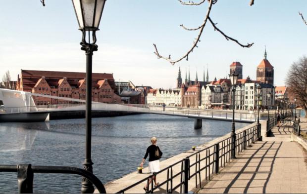 Kładka na Ołowiankę pozwoli połączyć Śródmieście Gdańska z wyspą i terenami Długich Ogrodów. Jej otwarcie powinno być impulsem do realizacji kolejnych inwestycji.
