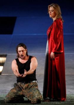 """W """"Makbecie"""" świetne role wokalne mieli Vittorio Vitelli i Katarzyna Hołysz."""
