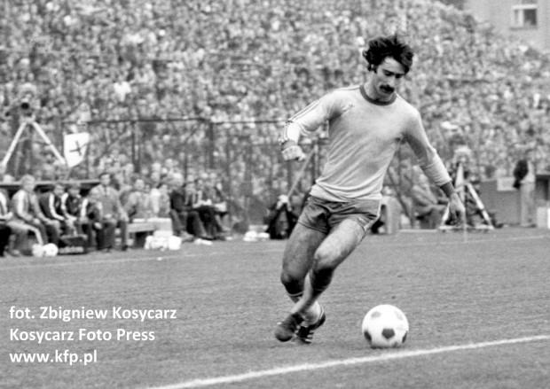 Tomasz Korynt w barwach Arki grał w latach 1977-1982. Nie wystąpił jednak wówczas w derbach Trójmiasta przeciwko Lechii. Na zdjęciu podczas meczu z Beroe Stara Zagora.
