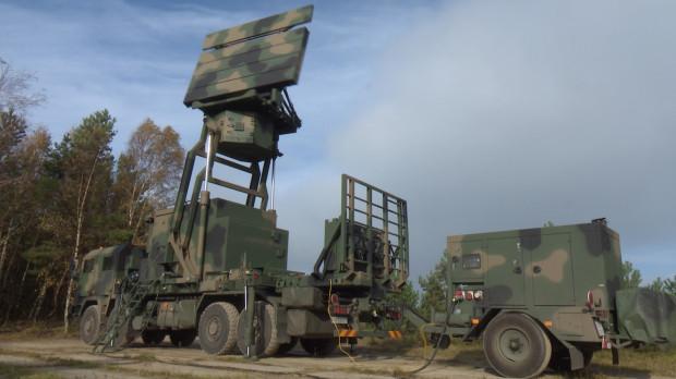 Stacja radiolokacyjna TRS-15C na Centralnym Poligonie Sił Powietrznych w Ustce.