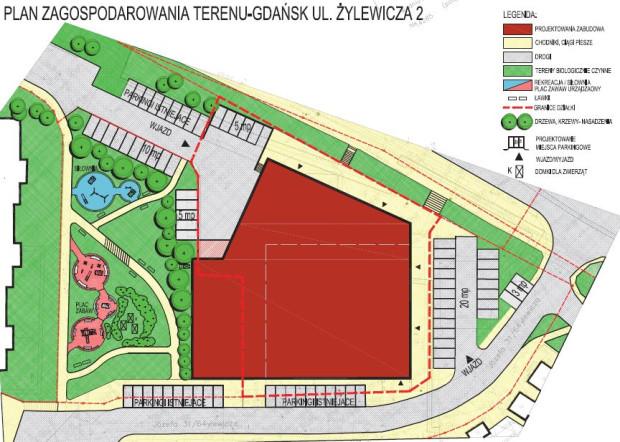W miejscu, gdzie do niedawna stało Tesco, powstanie nowy obiekt handlowy. Zmieni się także układ parkingów.