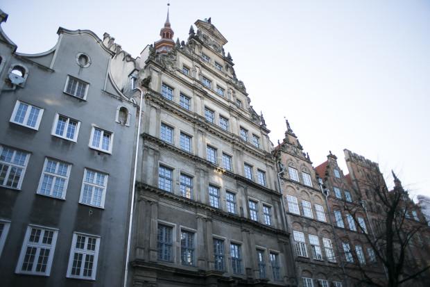 Dom Angielski przy ul. Chlebnickiej 13/16 w Gdańsku.
