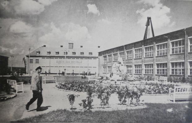 Budynki Stoczni Gdańskiej, 1943 r. (źródło: Danziger Werft 1844-1944, Danzig 1944).