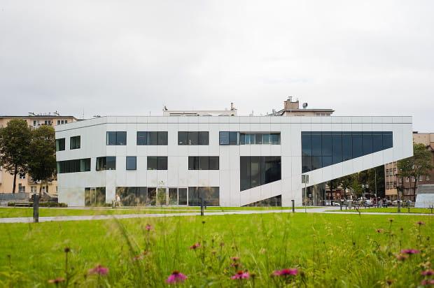 Budynek Gdyńskiej Szkoły Filmowej.
