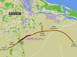 Początek 17-kilometrowej Południowej Obwodnicy Gdańska wyznaczono w Koszwałach. W maju 2012 r. będzie można nią dojechać do Obwodnicy Trójmiasta.