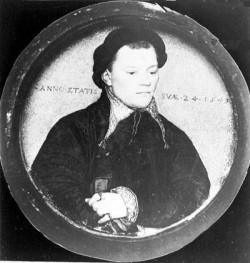 Miniaturowy portret gdańskiego patrycjusza Heinricha Schwartzwalda, namalowany przez Holbeina w 1543 r., należał przed wojną do gdańskiego Muzeum Miejskiego (Stadtmuseum).