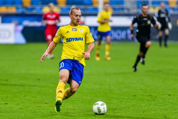 Dominik Hofbauer otworzył wynik sparingu z Wojskiem Polskim, a jego koledzy na dobre rozstrzelali się dopiero po przerwie.