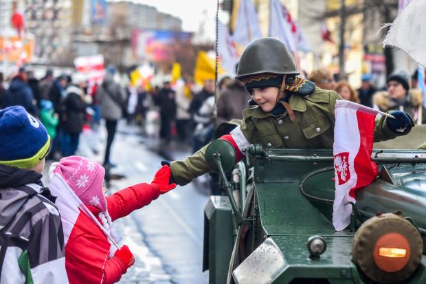 Parada Niepodległości w Gdyni 11.11.2016 Gdynia