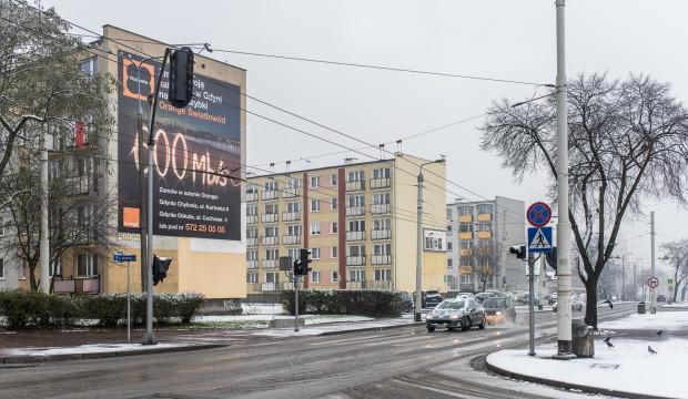 Ulica Chylońska w Gdyni.
