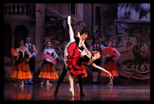 """Drugim baletem Moscow City Ballet prezentowanym w Teatrze Muzycznym w Gdyni będzie """"Don Kochot"""" (22 grudnia)."""