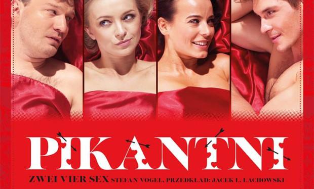 """Spektakl """"Pikantni"""" zobaczyć będzie można w Scenie Teatralnej NOT w walentynki - 14 lutego."""