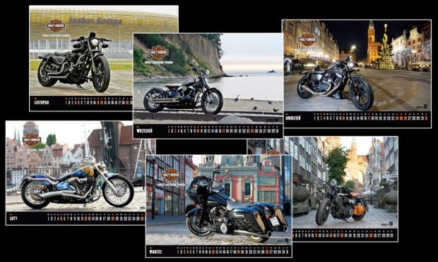 Kalendarz Harley-Davidson 2017 jest już w sprzedaży.
