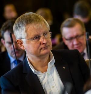 Jerzy Milewski, gdański radny z ramienia PiS i biznesmen.