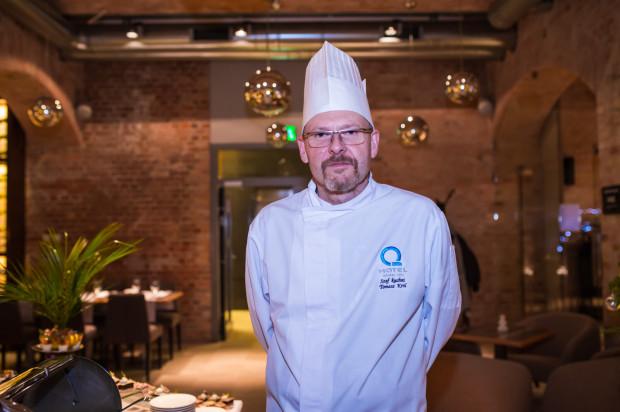 Tomasz Król - szef kuchni restauracji Grand Cru