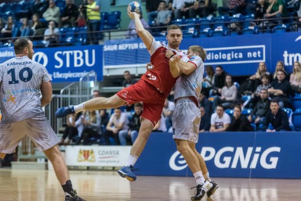 Łukasz Rogulski był najbardziej aktywny podczas pierwszego odjazdu Wybrzeża w meczu z Piotrkowianinem.