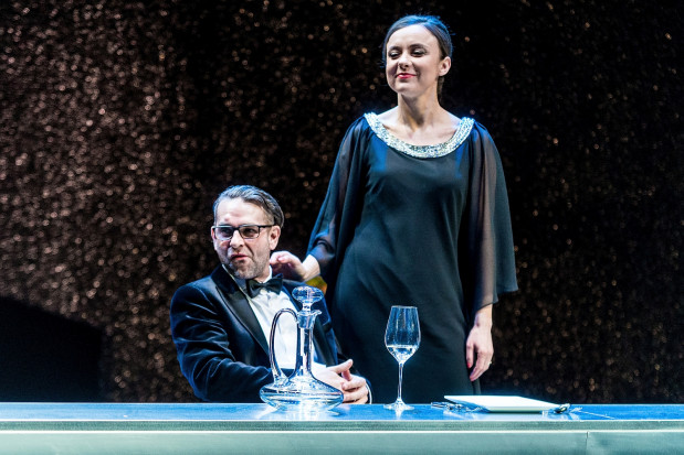 """...i """"Pełnia szczęścia"""" w reż. Adama Orzechowskiego na Scenie Kameralnej w Sopocie."""