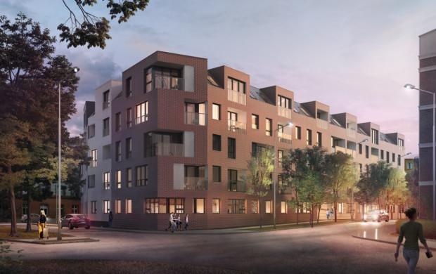 Projekt przewiduje współczesną architekturę budynku. W otoczenie wpisują go ceglane elewacje.