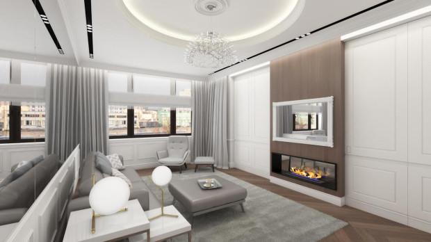 Apartament w Moskwie zaprojektowany przez Annę Marię Sokołowską z pracowni Dragon Art.