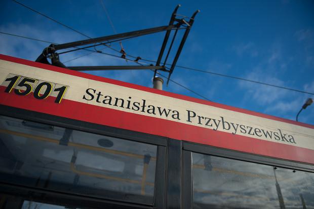 Stanisława Przybyszewska jest patronem tramwaju nr 1501