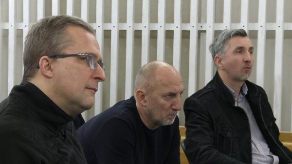Występujących oceniają twórcy musicalu pod bacznym okiem dyrekcji Teatru Muzycznego. Na zdjęciu od lewej: Wojciech Kościelniak (reżyser), Igor Michalski (dyrektor teatru) oraz Piotr Dziubek (autor muzyki).