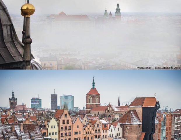 Czystość powietrza w Trójmieście i rozwijający się rynek pracy zachęcają do powrotu osoby, które kiedyś za pracą wyjechały do Warszawy czy Krakowa (górne zdjęcie).