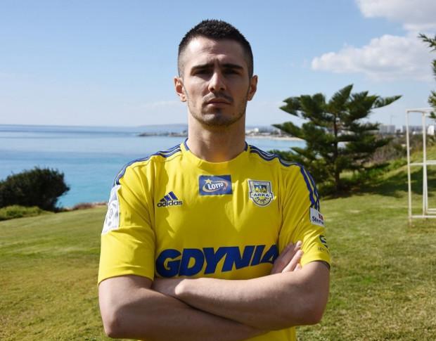 Josip Barisić w poniedziałek wystąpił w pierwszym sparingu jako piłkarz Arki Gdynia. Chorwacki napastnik został wypożyczony do końca sezonu z Piasta Gliwice.