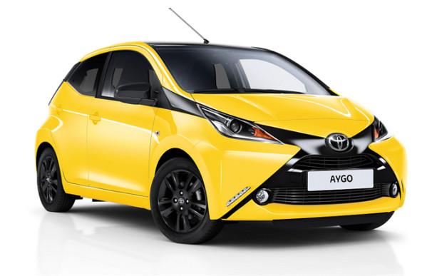 Za Aygo przemawia niezawodność Toyoty i nowoczesny wygląd.