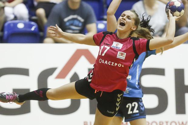 Adrianna Górna zdobyła 8 bramek dla Łączpolu w meczu z Metraco Zagłębiem. Gdańszczanki były jednak bez szans z wyżej notowanymi rywalkami, które znakomicie radziły sobie w obronie.