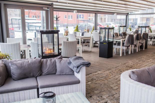 Ogród zimowy restauracji Magiel