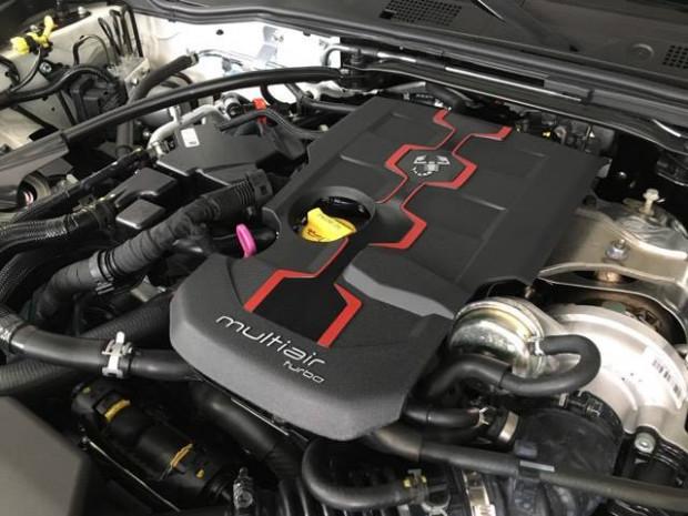 Pod maską Abartha 124 Spider kryje się silnik o pojemności 1.4 litra i mocy 170 KM.