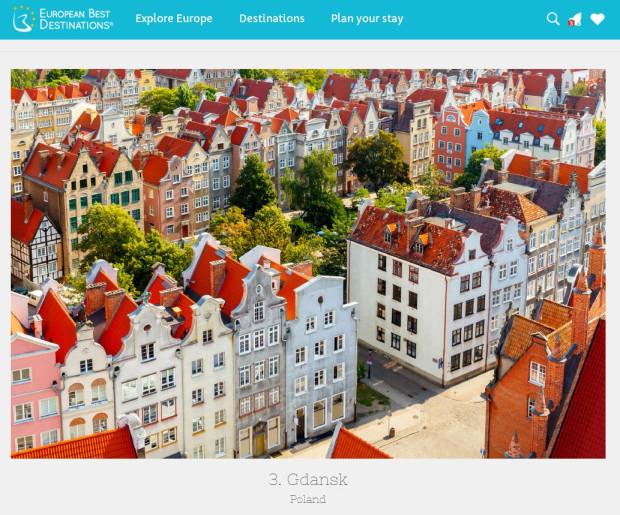Zrzut ekranu ze strony z wynikami konkursu.