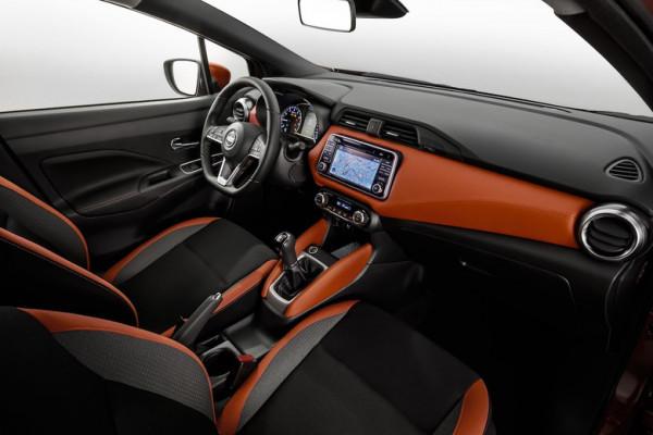 Wnętrze nowego Nissana Micry.