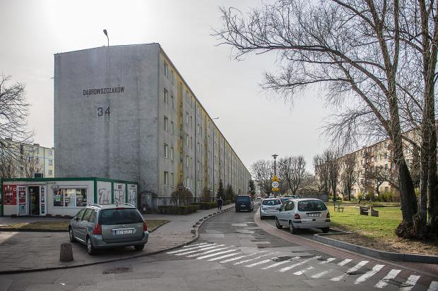 Przy ul. Dąbrowszczaków na Przymorzu mieszka ponad 2 tys. osób.