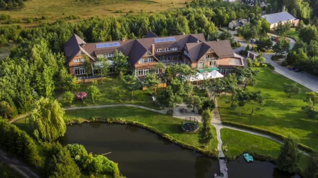 Hotel Kozi Gród - widok z lotu ptaka