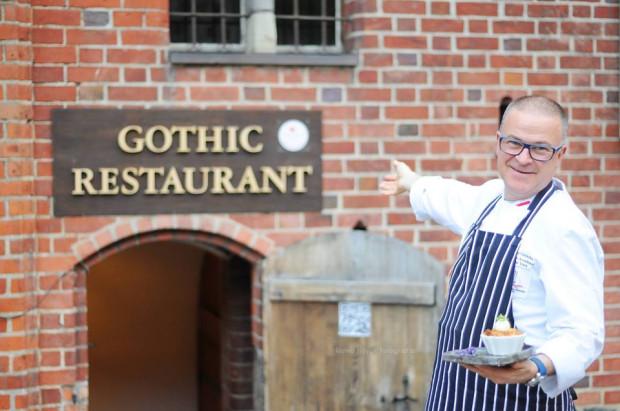 Bogdan Gałązka - szef kuchni Gothic Cafe & Restaurant