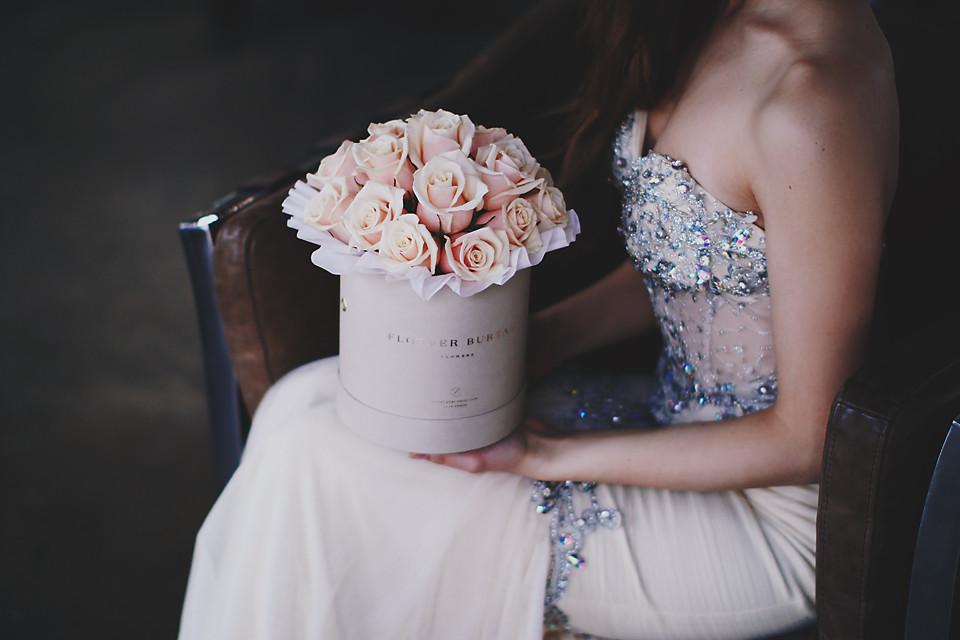 Kwiaty W Pudelkach Nowy Florystyczny Trend