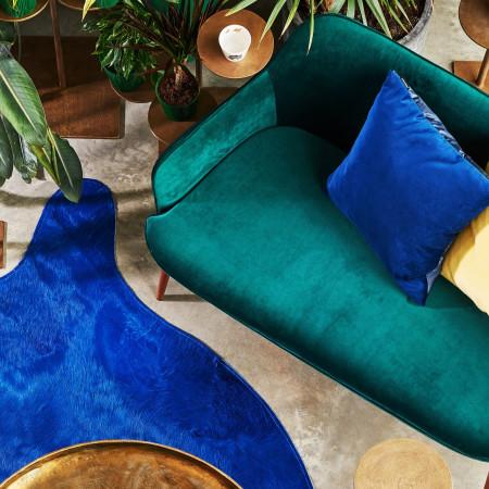 Sofa Charmy Velvet Green marki pols potten, cena ok. 3200 zł