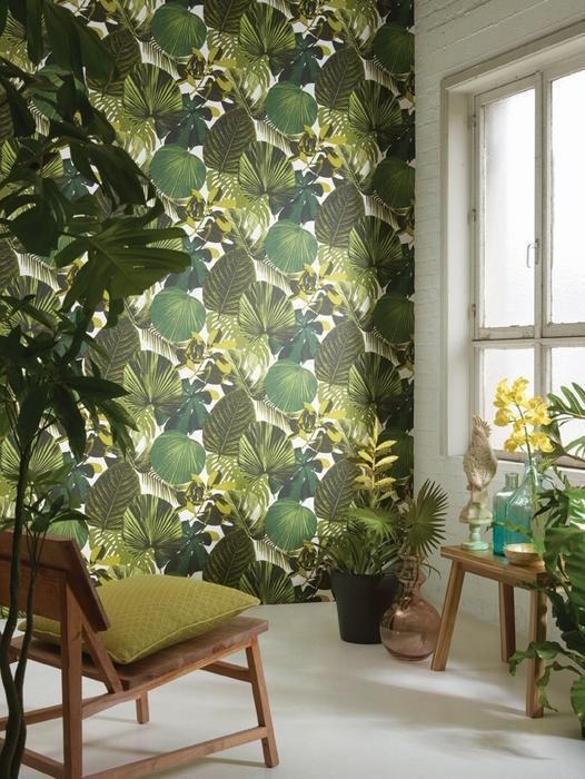 Tapeta w liście palmowe marki KHROMA Oxygen