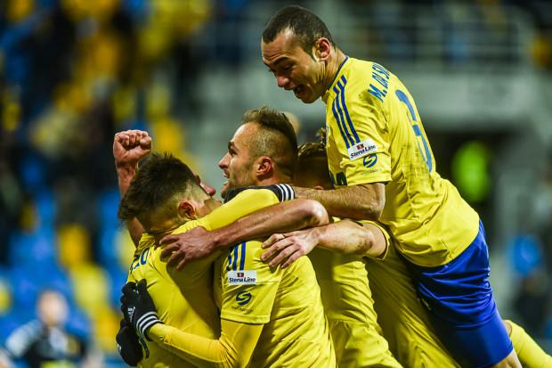 Tak piłkarze Arki mogli cieszyć się w Gdyni po raz pierwszy od 19 września.