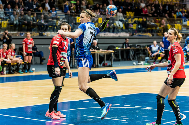 Martyna Borysławska pokazała się z bardzo dobrej strony podczas meczu z KPR.