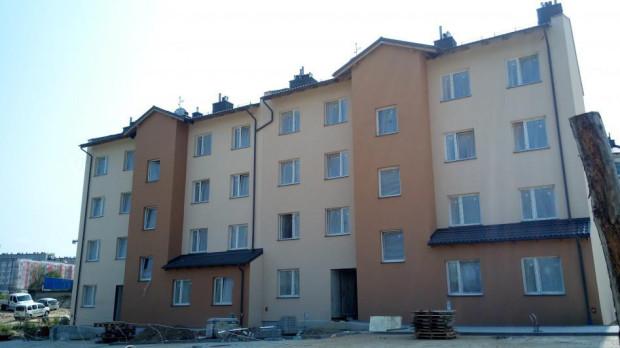 Gdańsk i Sopot co roku oddają na potrzeby najemców komunalnych  nowe budynki. Na zdjęciu budynek komunalny przy ul. Madalińskiego w Gdańsku.
