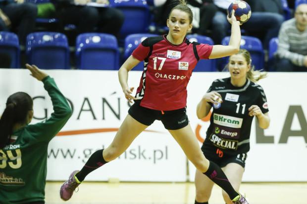 Adrianna Górna zdobyła 8 bramek w meczu z Kram Startem. Gdańszczanki do przerwy były jednak tylko tłem dla rywalek i po zmianie stron nie zdołały odrobić strat.