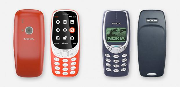 Nowa Nokia 3310 jest cieńsza i smuklejsza od swojego poprzednika, ale zamysł całokształtu jest taki sam.
