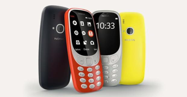 """Nowe """"3310"""" można kupić w czterech kolorach."""