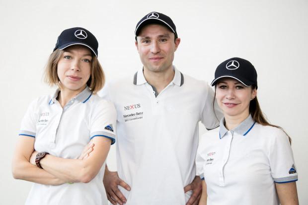 Zespół organizacyjny Trójmiejskiego Stowarzyszenia Rowerowego Od lewej: Marta Kamińska, Bartłomiej Glass, Agnieszka Irla-Kulesza