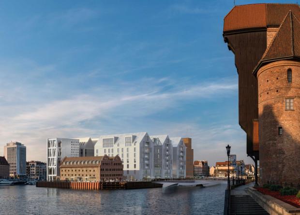 Pierwszy etap prac obejmie budowę hotelu i apartamentów.